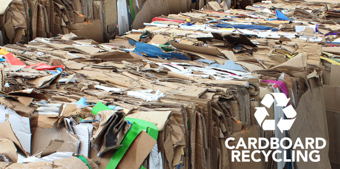 Big Recycling Cardboard